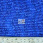 Benartex Cotton Fabric Back Talk Text Me Back