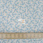 Benartex Cotton Fabric Cabana Anchors Away