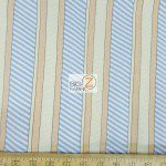 Benartex Cotton Fabric Cabana Dotted Stripes