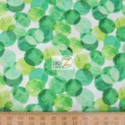Benartex Cotton Fabric Mad For Melon Colorful Dots