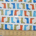 Western Print Cotton Fabric Jack And Jenny