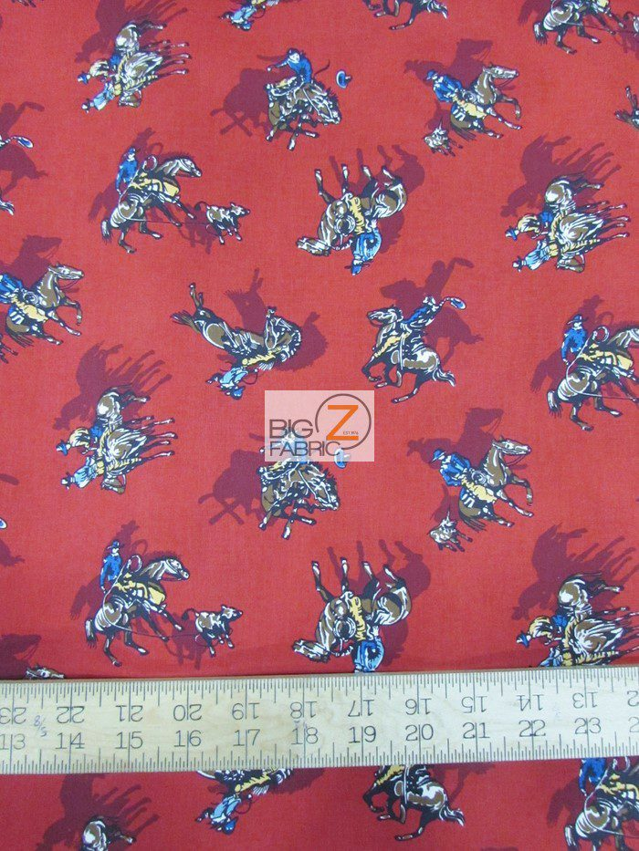 Western 100 Cotton Fabric 100 Cotton Fabric