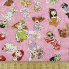 Loralie Designs Cotton Fabric Fast Women Toss