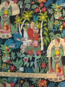Frida's Garden Cotton Fabric
