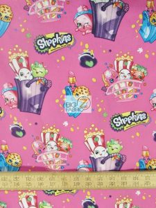 Shopkins Bags Of Fun Cotton Fabric