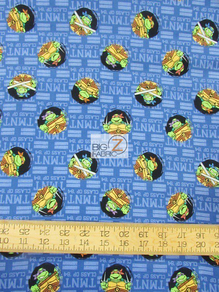TMNT Turtle Tough Guys Cotton Fabric