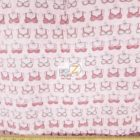Cancer Awareness Quilting Cotton Foam Fabric Pink