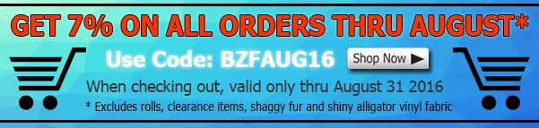 August Big Z Fabric Cotton Discount