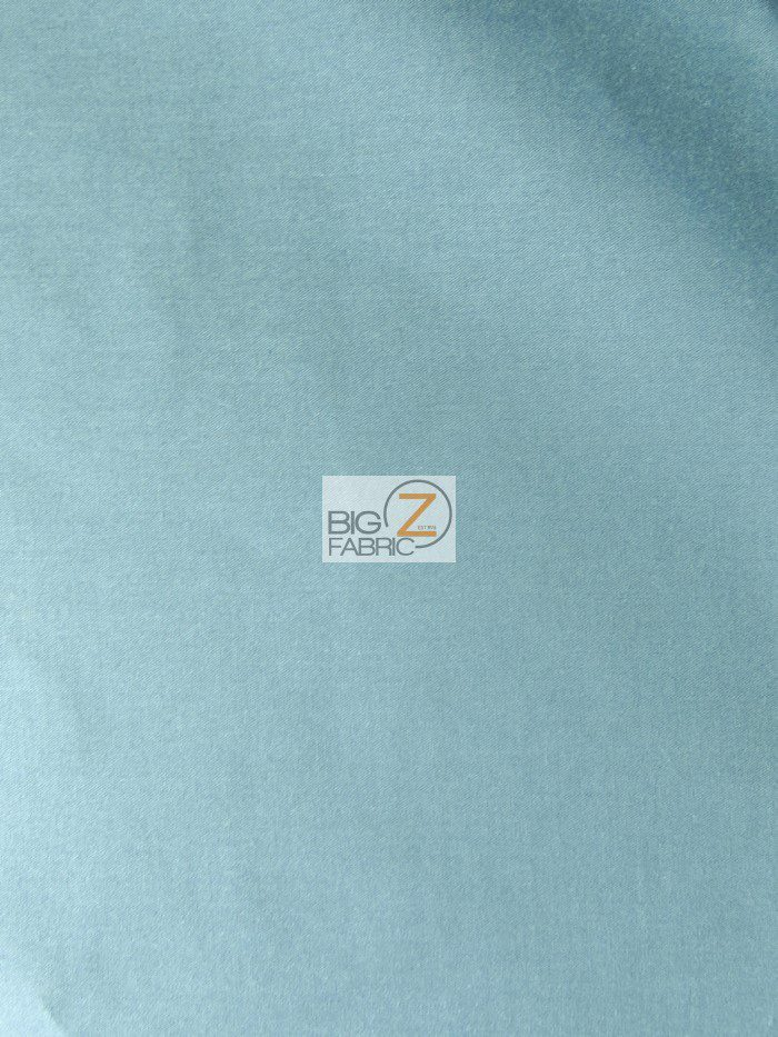 Blue Solid Poly Cotton Fabric