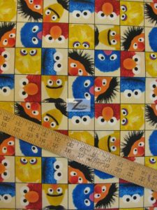 Welcome to Sesame Street Cotton Fabric