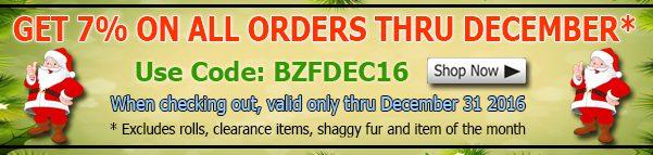 Big Z Fabric December Cotton Fabric Discount Coupon