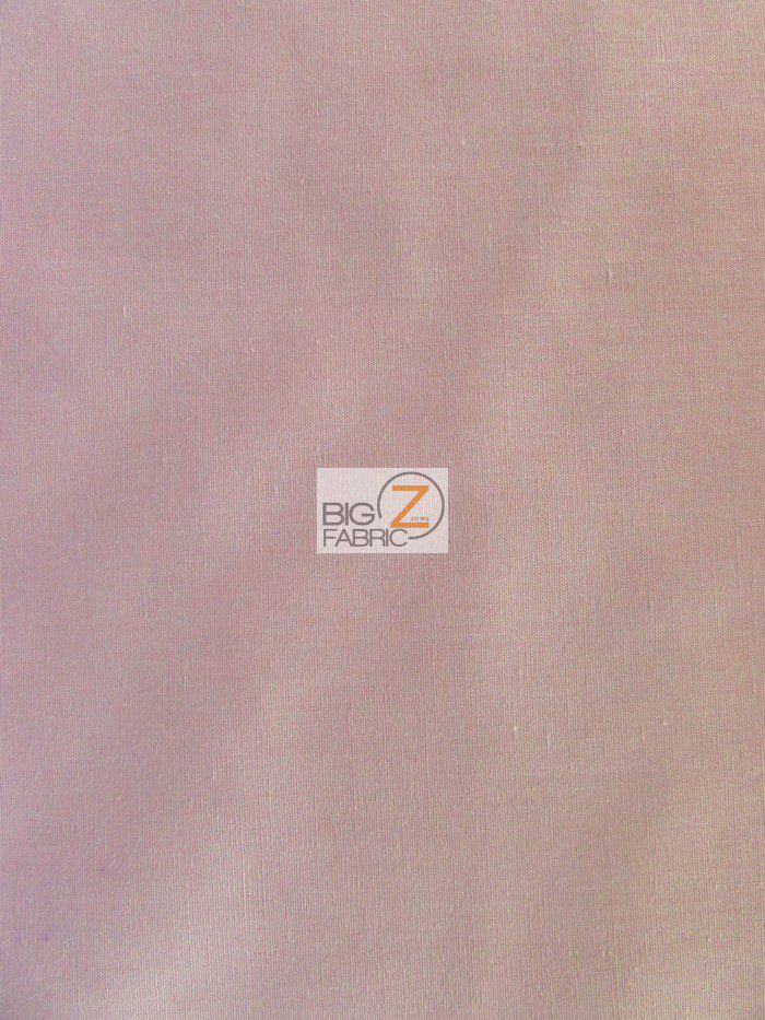 Dusty Rose Solid Poly Cotton Fabric