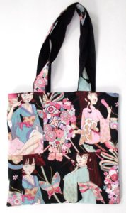 Miss Butterfly Tote Bag