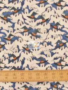 Fright Night Ghosts By Whistler Studio For Windham Fabrics
