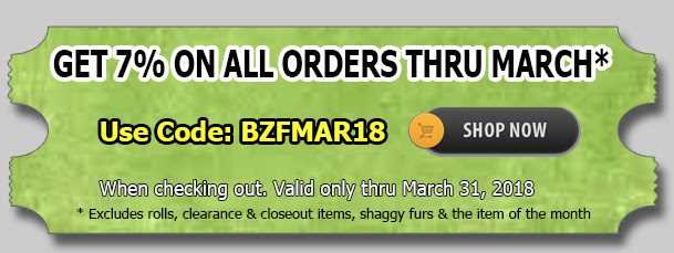 Big Z Fabric March Madness Cotton Sale!!!