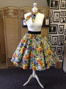 Alexander Henry Midnight Snack Skirt