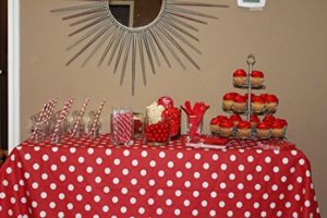 Decorative Polka Dot Tablecloth