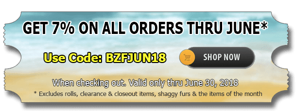 Big Z Fabric June Discount