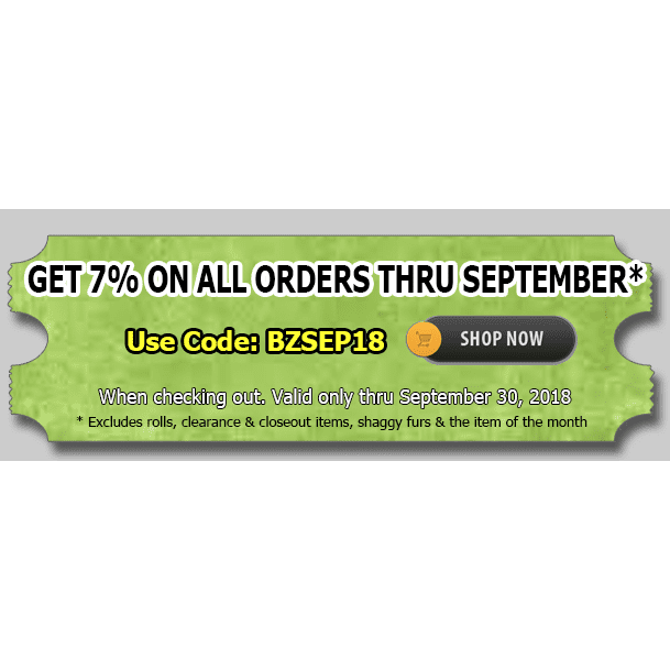 Sept. 2018 coupon code