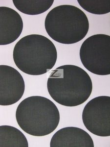 big polka dot cotton fabric
